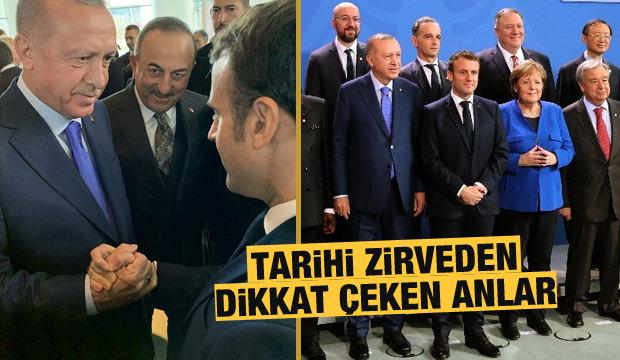 Başkan Erdoğan Berlin'de! Tarihi zirveden dikkat çeken kareler