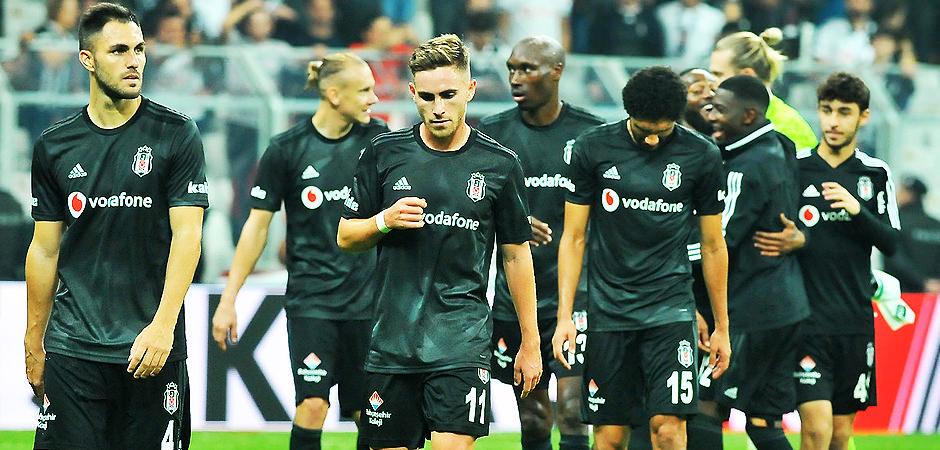 Beşiktaş'a şok gelişme! 2 futbolcu ihtar çekti