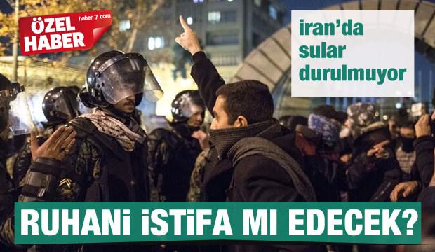 İran'da sular durulmuyor! Ruhani istifa mı edecek?