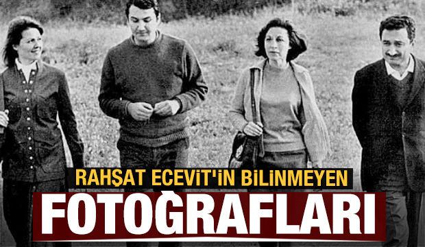 Rahşan Ecevit'in bilinmeyen fotoğrafları