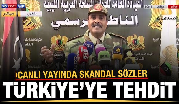Canlı yayında Türkiye'ye akılamaz tehdit: Sahillerimizde sonunuz gelecek