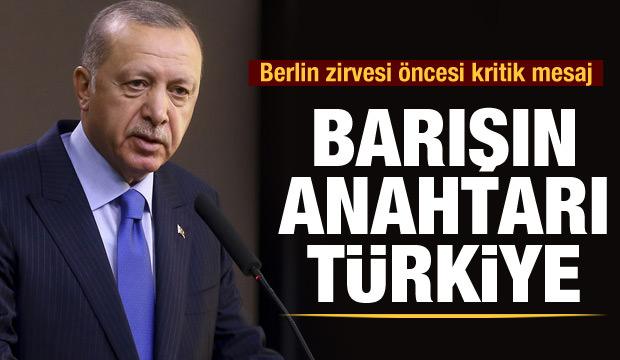 Son dakika! Cumhurbaşkanı Erdoğan: Libya'da barışın anahtarı Türkiye'dir
