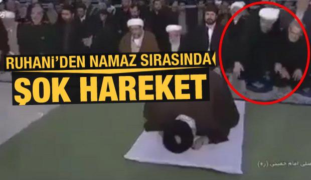 Son Dakika: Ruhani'den namaz sırasında şok hareket! Herkes dondu kaldı