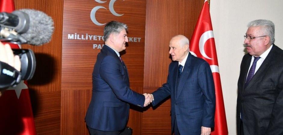 TOGG'dan MHP liderine teşekkür
