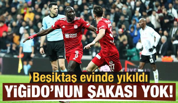 Yiğido'nun şakası yok! Beşiktaş'ı yıktı...
