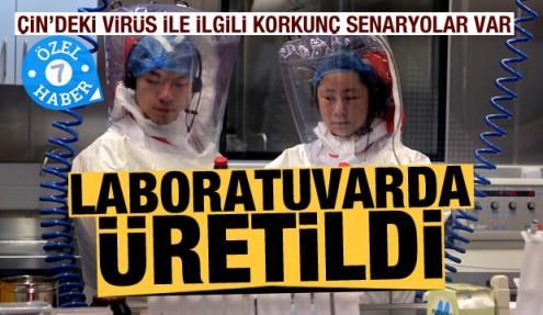 Çin'deki ölümcül virüs laboratuvarda üretilmiş olabilir