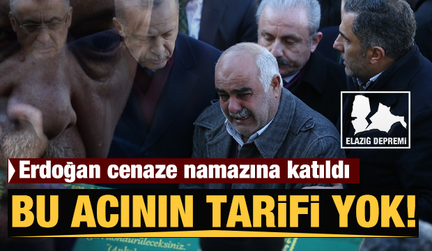 Cumhurbaşkanı Erdoğan Elazığ'da! İlk fotoğraflar...