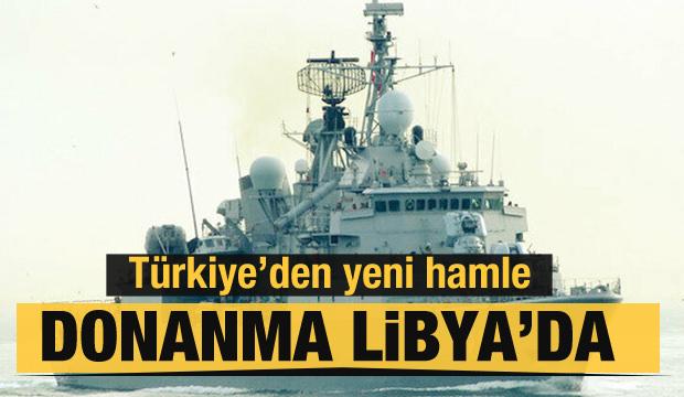 Donanma Libya'da