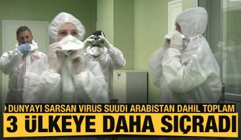 Koronavirüs salgını Suudi Arabistan dahil toplam üç ülkeye daha sıçradı