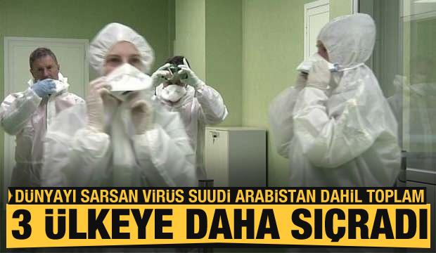 Dünyayı kasıp kavuran koronavirüs salgını Suudi Arabistan dahil toplam üç ülkeye daha sıçradı