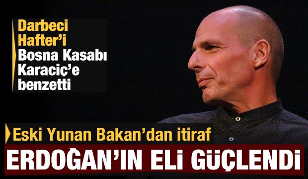 Eski Yunan Bakan, Yunanistan hükumetini topa tuttu: Erdoğan'ın eli güçlendi