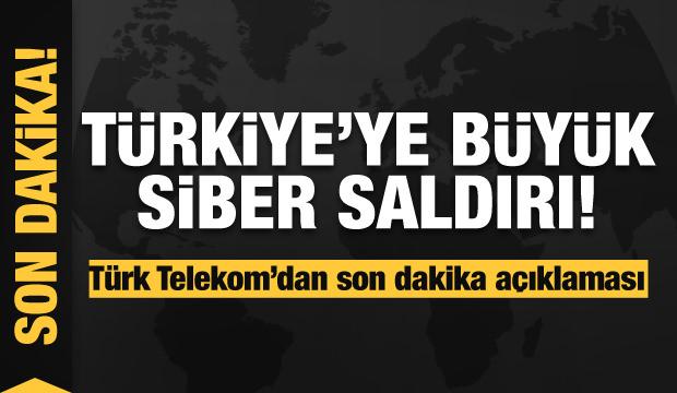 Türkiye'de internet neden çöktü? Son dakika saldırı açıklaması