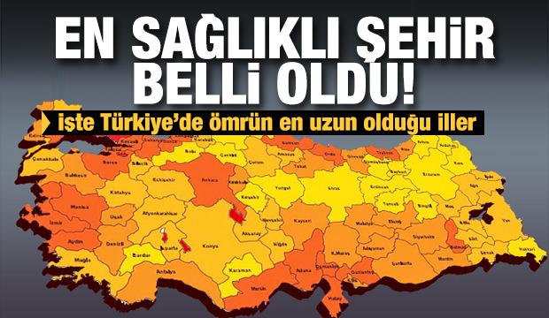 İşte Türkiye'de şehir şehir yaşam süreleri...