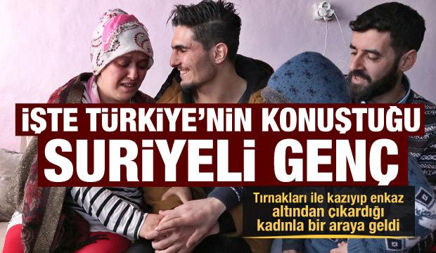 İşte Türkiye'nin konuştuğu Suriyeli genç