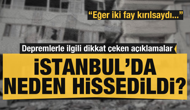Manisa'daki depremde dikkat çeken detay: İstanbul'da neden hissedildi?