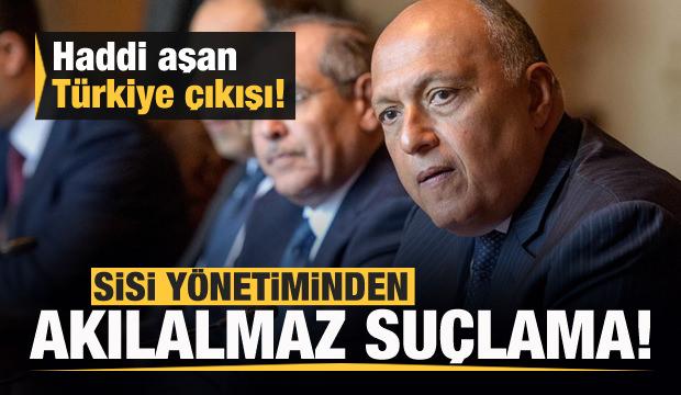 Mısır'dan Türkiye'ye akılalmaz suçlama!