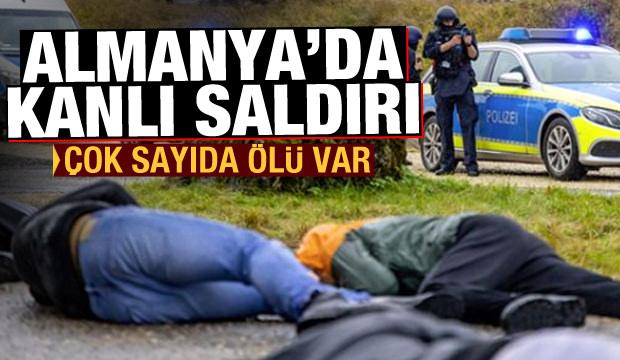 Son Dakika Haberi: Almanya'da kanlı saldırı! Çok sayıda ölü var