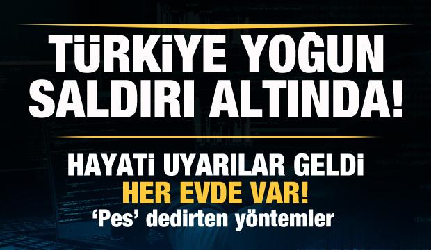 Son dakika: Türkiye'ye siber saldırı! İşte saldırının yapıldığı 3 ülke! Kritik uyarı geldi