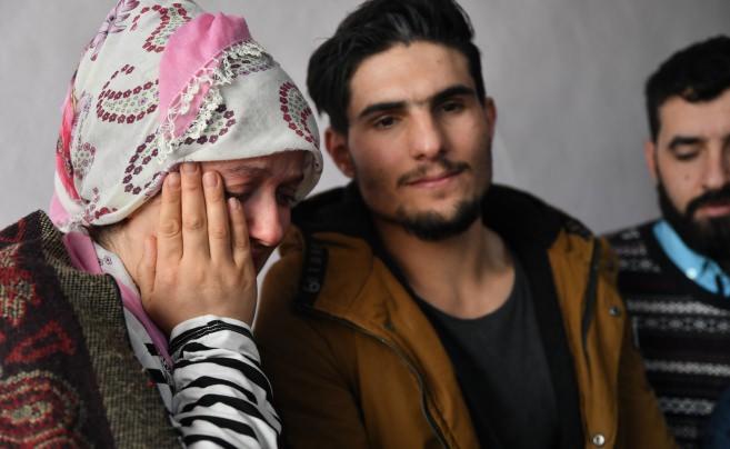 Suriyeli Mahmut enkazdan kurtardığı çiftle buluştu