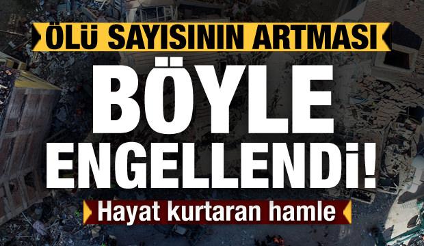 Hayat kurtaran hamle! Türkiye daha fazla can kaybını böyle önledi!