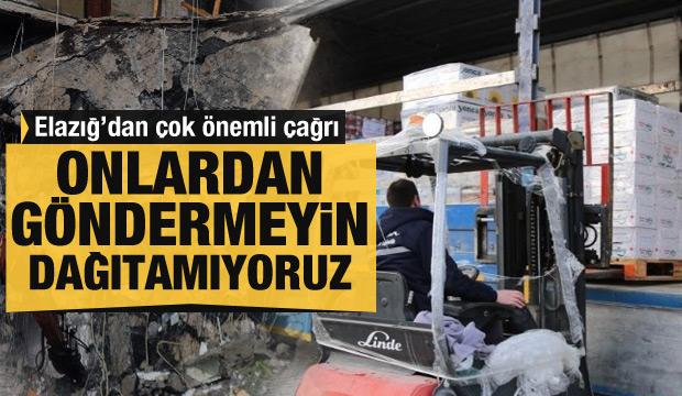 Bakan Soylu'dan yardım göndermek isteyen vatandaşa çağrı
