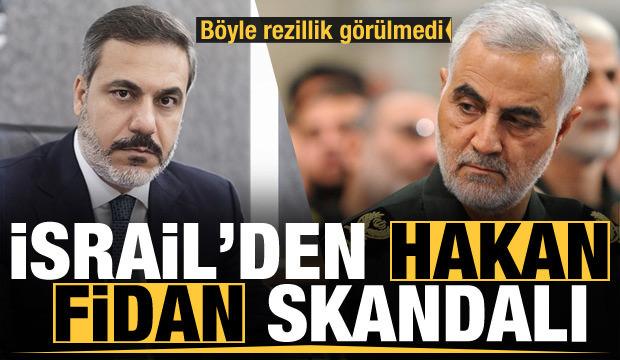 Son Dakika: Böyle rezillik görülmedi! Hakan Fidan skandalı! Kasım Süleymani...
