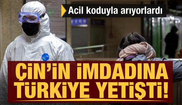 Çin acil koduyla arıyordu! Çin'in imdadına Türkiye yetişti