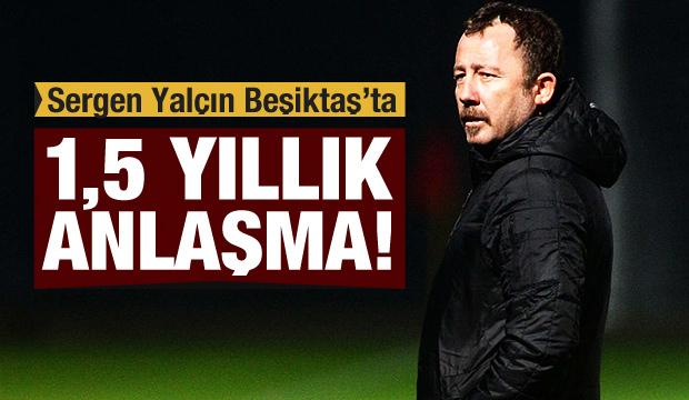Sergen Yalçın Beşiktaş'ta!