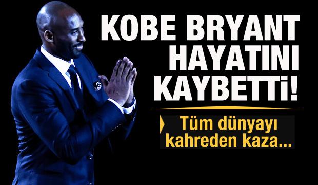 Son dakika haberi: Kobe Bryant helikopter kazasında hayatını kaybetti