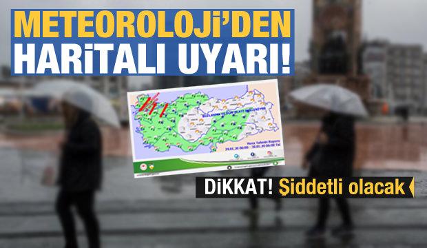 Son Dakika Haberi: Meteoroloji İstanbul'u uyardı! Hepsi iptal edildi