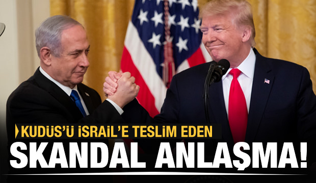 Son dakika: Skandal haritayı paylaşıp Trump dünyaya duyurdu: Kudüs artık İsrail'in...
