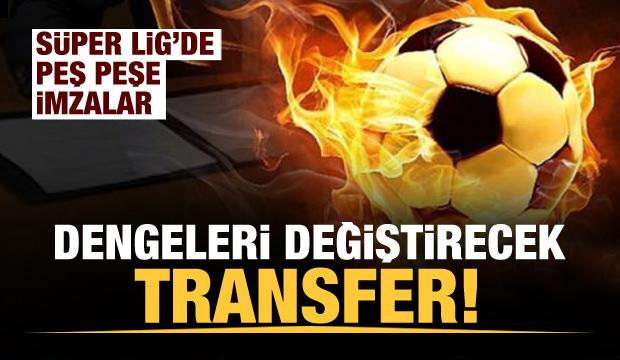 Süper Lig'de resmen biten transferler!