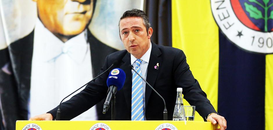 Fenerbahçe'de gözler Ali Koç'ta