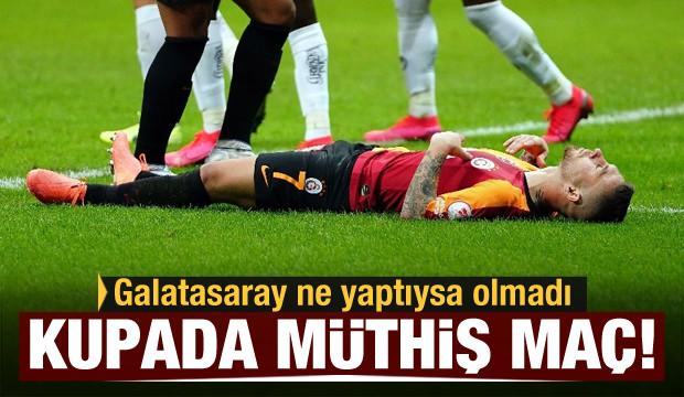 Galatasaray veda etti! Alanyaspor yarı finalde