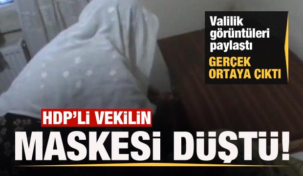 HDP'den skandal iddia! Valilik görüntüleri paylaştı