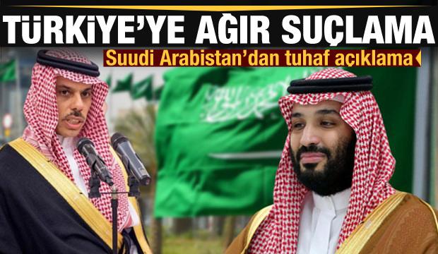 Suudi Arabistan'dan tuhaf Libya açıklaması! Türkiye'ye ağır suçlama