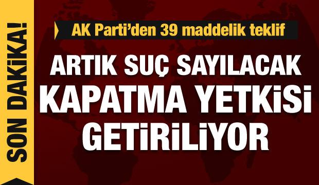 AK Parti'den yeni kanun teklifi... Mehmet Muş açıklama yapıyor