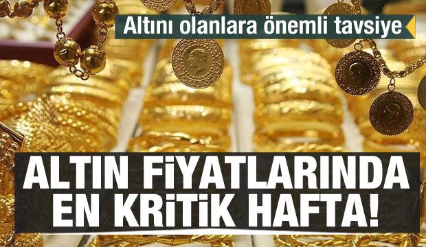 Altın fiyatlarında en kritik hafta! 17 Şubat güncel altın fiyatları