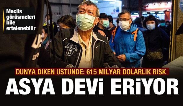 Asya devi eriyor! 140 milyar Dolar zarar