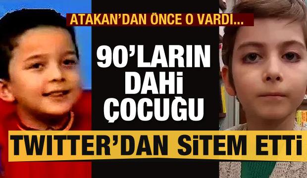 90'ların dahi çocuğu Selimcan Twitter'dan sitem etti!
