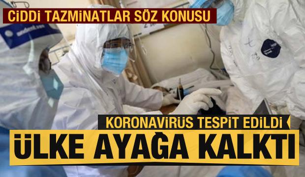 Ciddi tazminatlar söz konusu... Koronavirüs tespit edildi, ülke ayağa kalktı!
