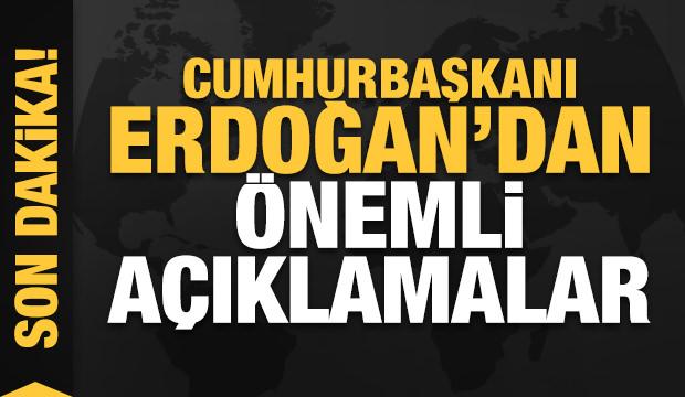Erdoğan müjdeyi verdi: Hedef 5 milyar dolar!