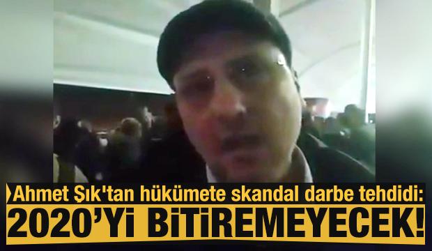 HDP'li Ahmet Şık'tan hükümete skandal darbe tehdidi!