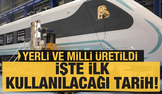 Milli elektrikli tren için tarih belli oldu!