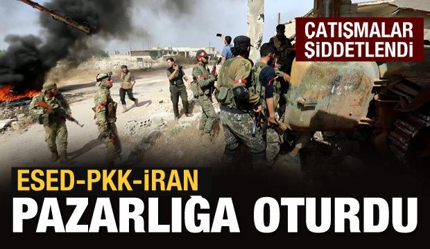 Rejim-PKK-İran birlikte vuruyor