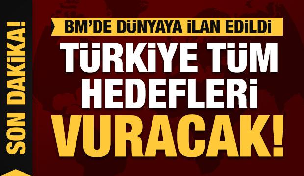Son dakika açıklaması: Türkiye tüm hedefleri vuracak!
