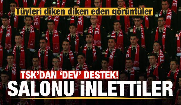 Türk Silahlı Kuvvetleri'nden 12 Dev Adam'a destek