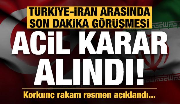 Türkiye-İran arasında son dakika telefon görüşmesi! Covid-19'da korkunç rakam