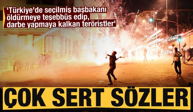 'Türkiye'de seçilmiş başbakanı öldürmeye teşebbüs edip, darbe yapmaya kalkan teröristler'