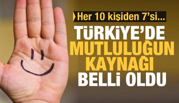 Türkiye'nin mutluluk haritası belli oldu